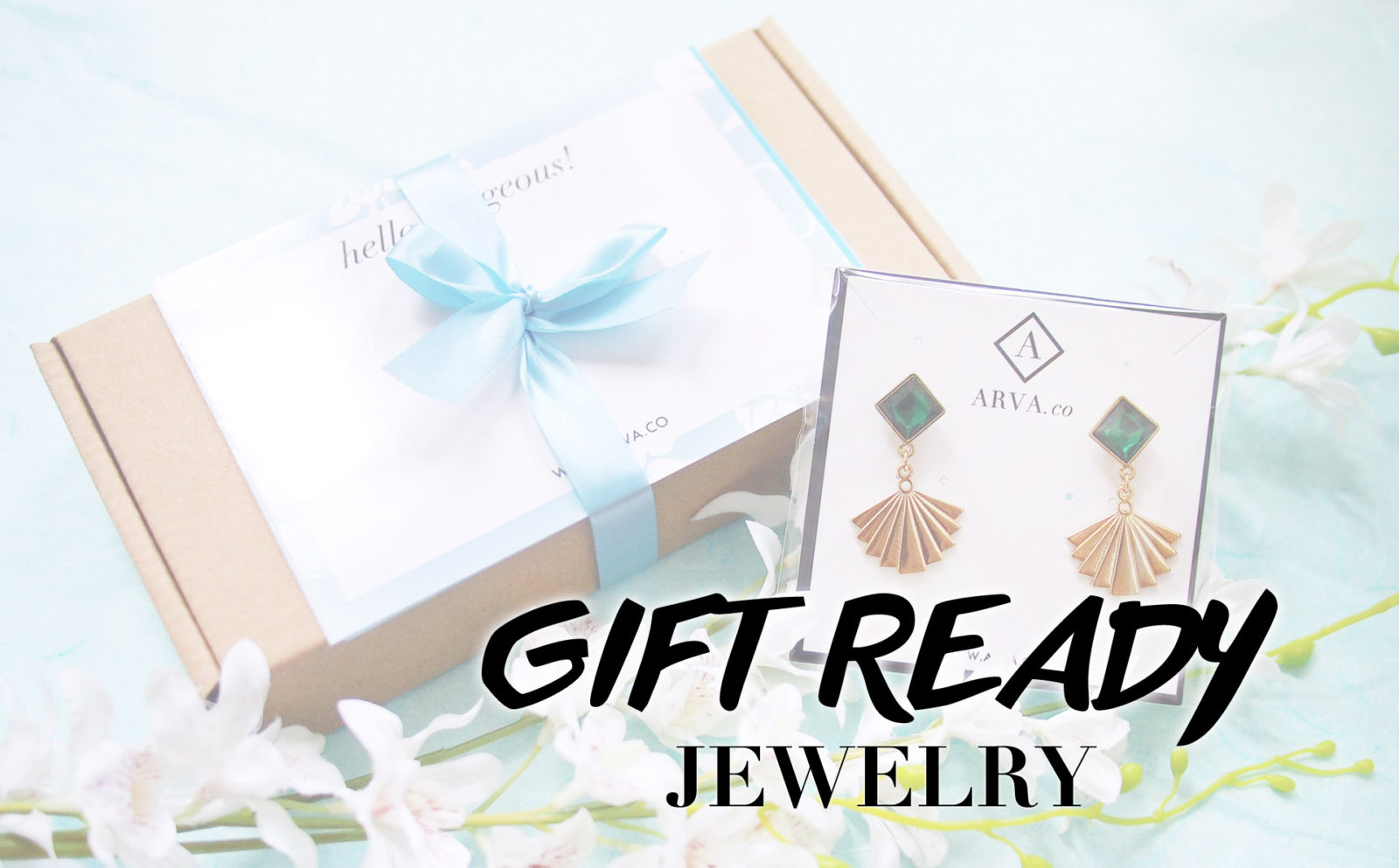 Jewelry ready as gifts