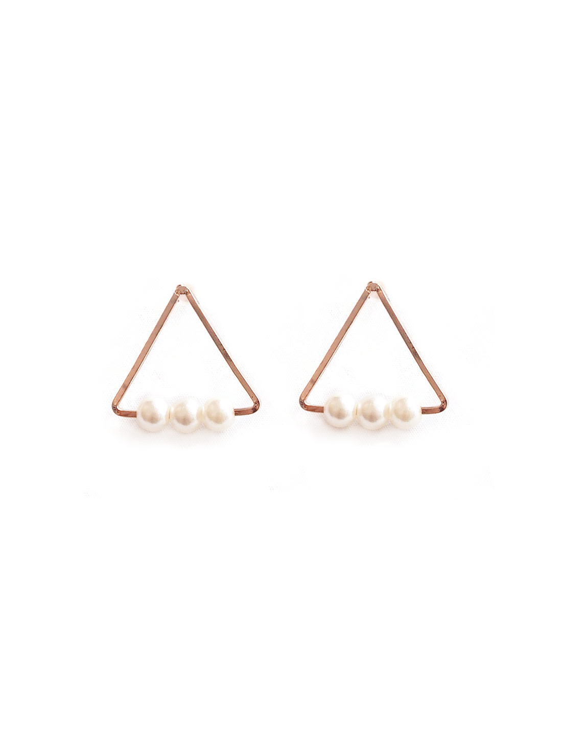 ACC378-Vienna-Triangle-Pearl-Earrings-in-Rose-Gold-1