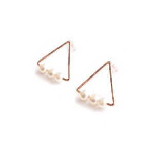 ACC378-Vienna-Triangle-Pearl-Earrings-in-Rose-Gold-2