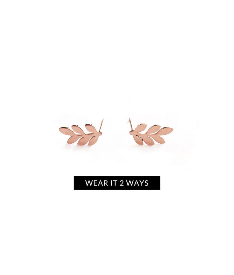 ACC427-(Stainless-Steel)-Maya-Leaf-Earrings-in-Rose-Gold-9