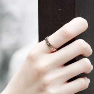 ACC409-Skinny-Roman-Numeric-Ring-in-Rose-Gold-4