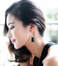 ACC555-Triangle-Leather-Tassel-Earrings-in-Black-1