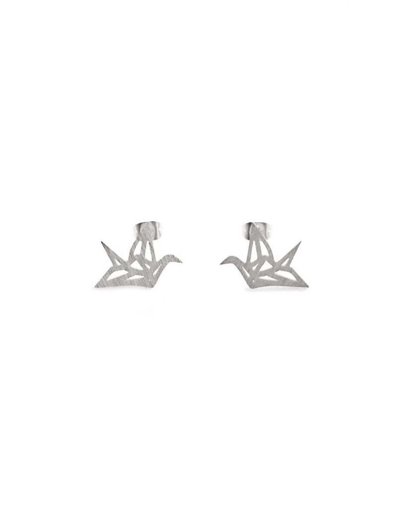 ACC679-(Stainless-Steel)-Mini-Origami-Crane-Earrings-in-Silver-6