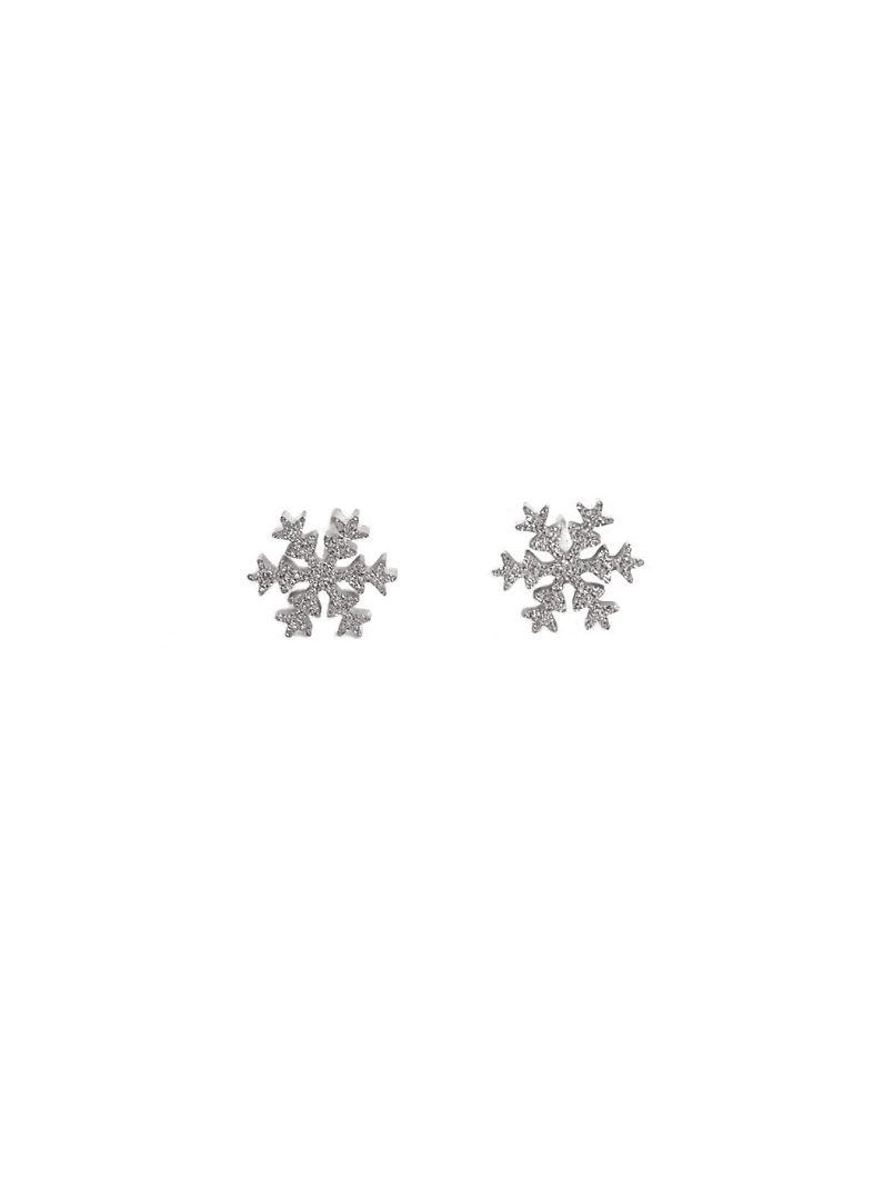 ACC717-(Stainless-Steel)-Glitter-Snowflake-Earrings-in-Silver-3