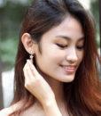 ACC897-Snowflake-Crystal-Earrings-in-Silver-1