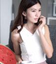 ACC937-Pom-Drop-Earrings-in-Black-4