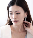 ACC965-Triangle-Leather-Accent-Tassel-Earrings-in-Grey-2