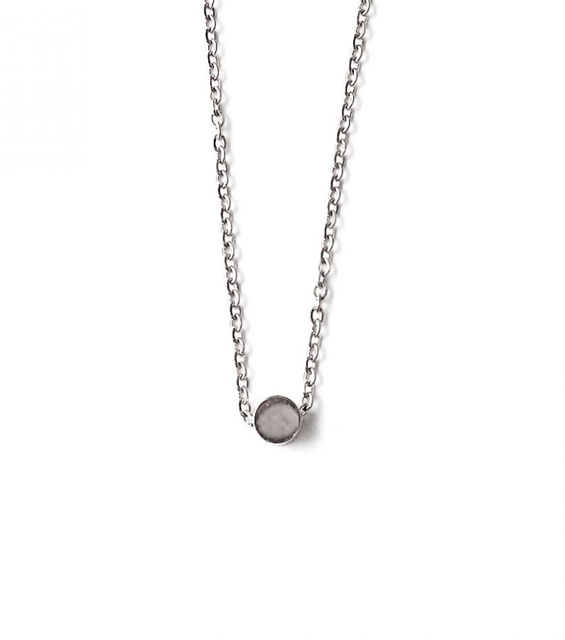 ACC1029-(Stainless-Steel)-Mini-Pea-Necklace-in-Silver-6