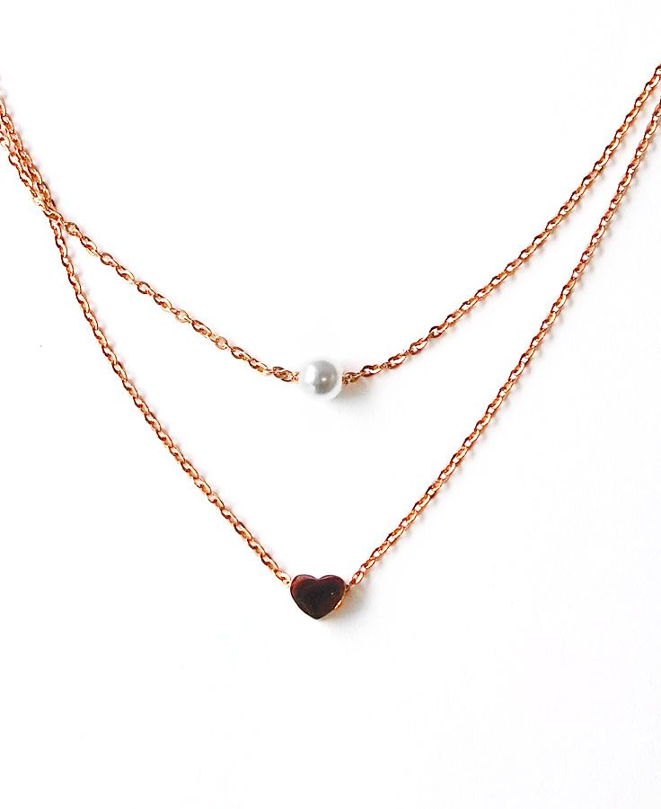ACC1044-(Stainless-Steel)-Shona-Layered-Necklace-in-Rose-Gold-7
