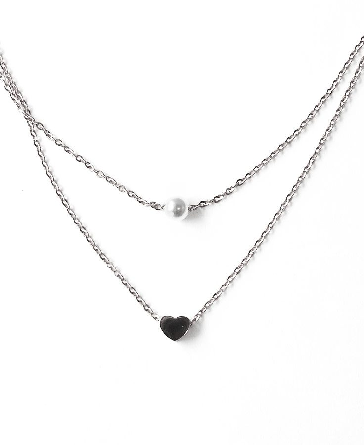 ACC1045-(Stainless-Steel)-Shona-Layered-Necklace-in-Silver-7