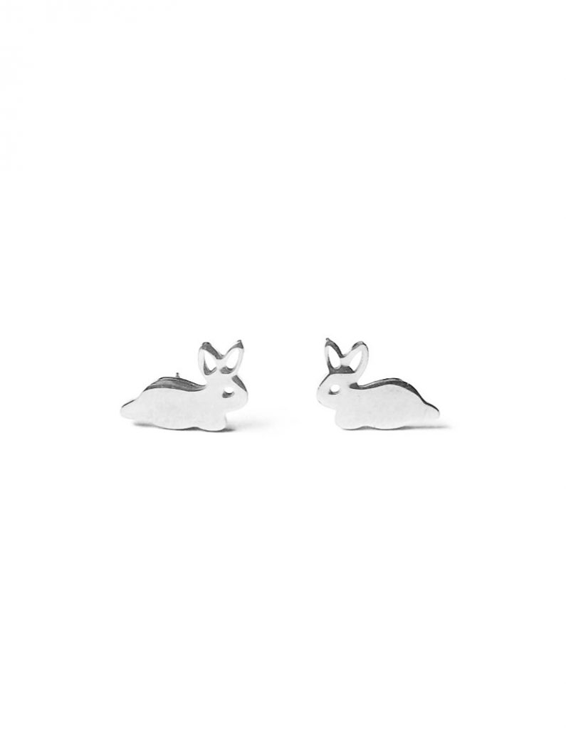 ACC1057-(Stainless-Steel)-Cotton-Rabbit-Earrings-in-Silver-4