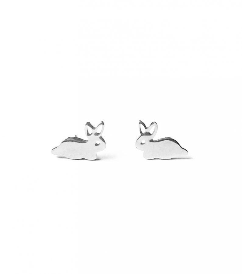 ACC1057-(Stainless-Steel)-Cotton-Rabbit-Earrings-in-Silver-4