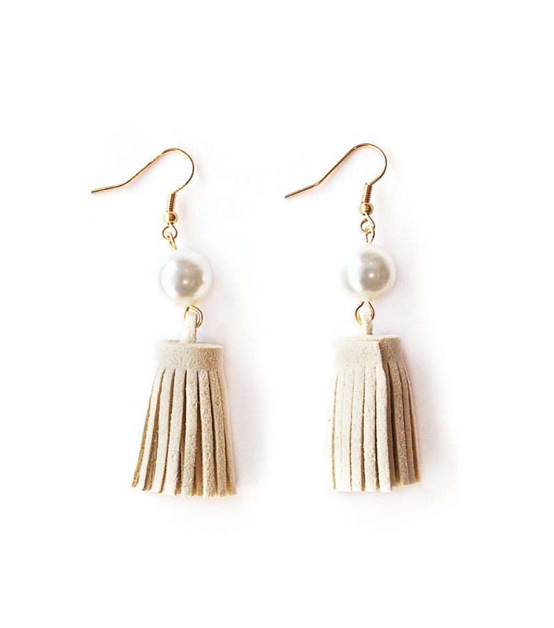 ACC1082-Pearl-Leather-Tassel-Earrings-in-Ivory-1
