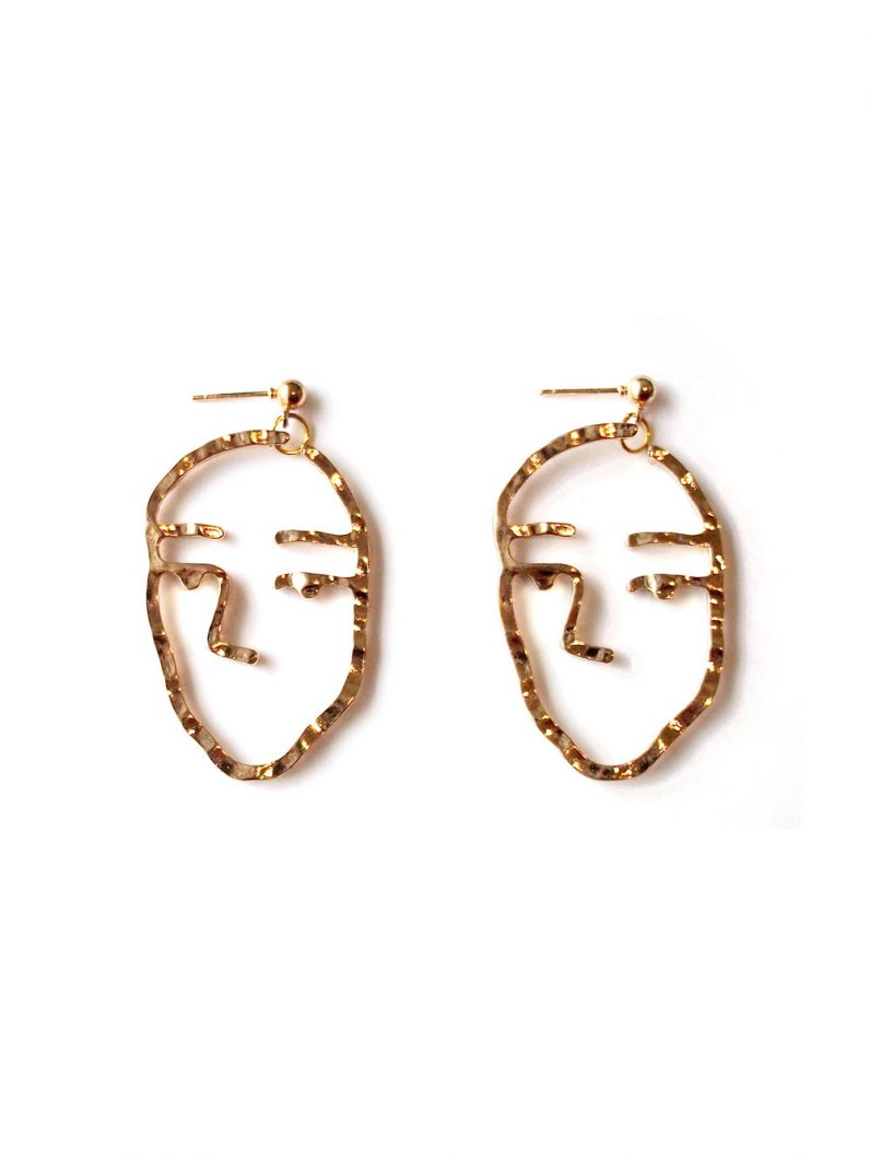ACC1142-Faze-Earrings-in-Gold-4
