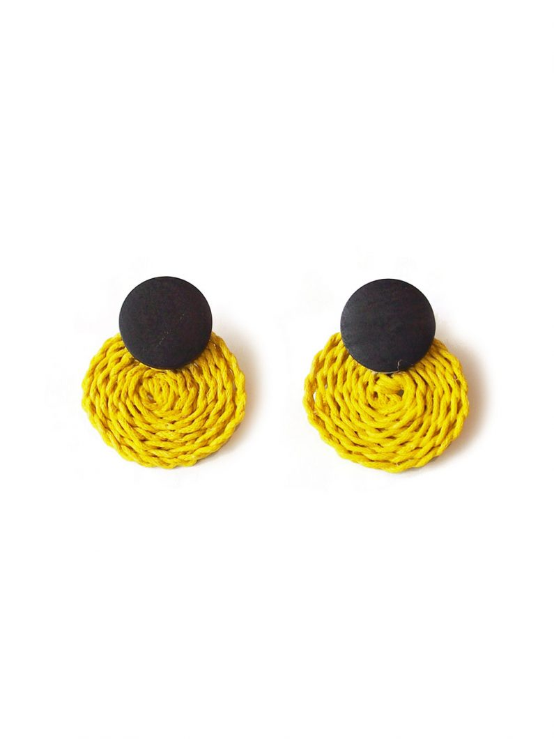 ACC1147-Oreo-Rattan-Earrings-in-Yellow-4