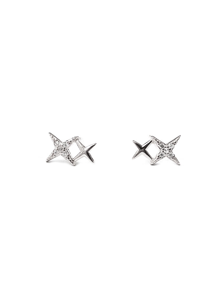 ACC1305-(925-Silver)-Tiny-Starlight-Ear-Studs-in-Silver-2