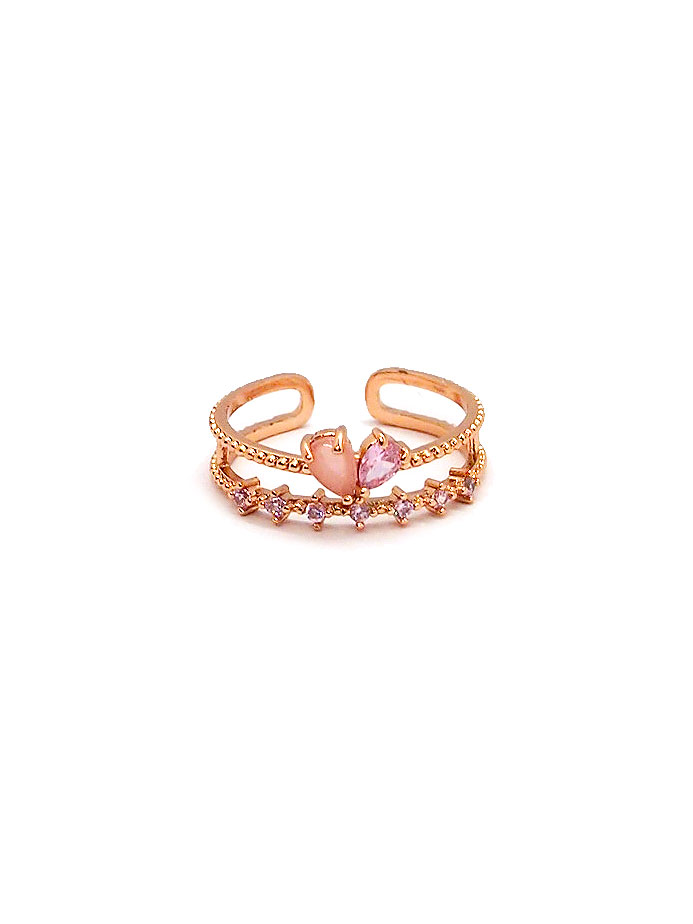 Blush Heart Ring